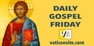 Gospel Saint Luke 12:54-59. CATHOLIC