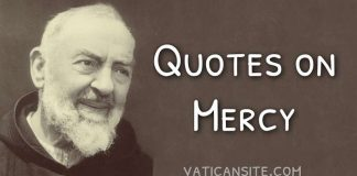 Padre Pio Quotes on Mercy