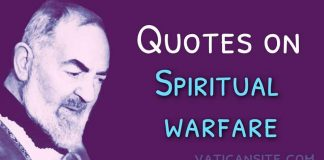 Padre Pio Quotes on Spiritual Warfare