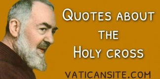 Quotes by Padre Pio about the Cross of Jesus Christ