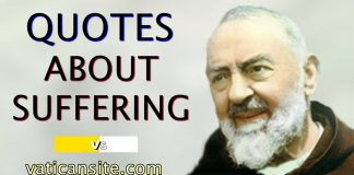 Padre Pío Quotes about suffering