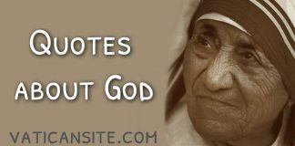 St. Mother Teresa Quotes About God
