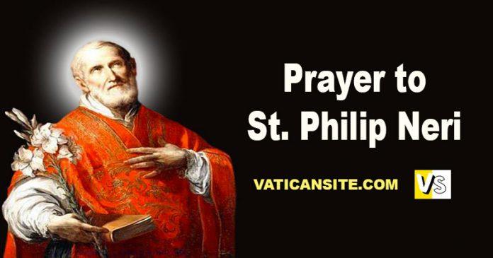 Prayer to St Philip Neri