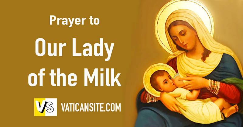 Prayer to Our Lady of the Milk