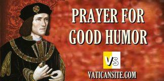 PRAYER FOR GOOD HUMOR ST. THOMAS MORE